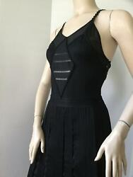 CHANEL Runway Dress FallWinter Collection (Circa 2006) (Size 42 FR)