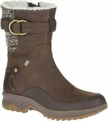 Merrell J01880 Women#x27;s Eventyr Mid North Waterproof Snow Boots Brown Clay $119.99