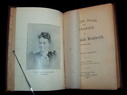 VERY RARE!! 1894 Life of Maria Woodworth-Etter PENTECOSTAL CHARISMATIC REVIVAL $2,795.00