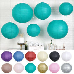 8 pcs Assorted Sizes Hanging Paper Lanterns Wedding Party Events Decorations $14.27