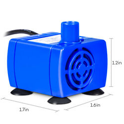 Pet Flower Pet Fountains Pump Electric Replacement Water Pump With 5.9ft Cable $8.41