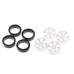 Lots 4 1:28 RC Wheel Rims with Tires for WLtoys K969 K989 Drift Car Upgrade $8.44