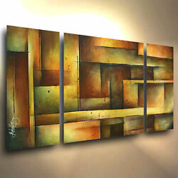 art original PAINTING MODERN abstract Contemporary DECOR Mix Lang cert. unique $389.00