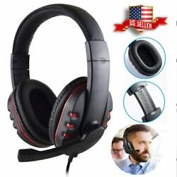 Wired Gaming Stereo Headset Headphone with Microphone for Sony PS4 PlayStation 4 $13.99