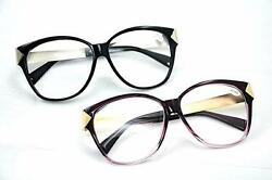 GF122 Retro Vintage 2018 Fashion Clear Lens Glasses Frame Choice of 2 Colours $9.76