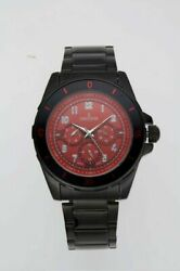 Charles Latour 10049 Mens Conway Watch Multi Function Red Black Analog $21.92