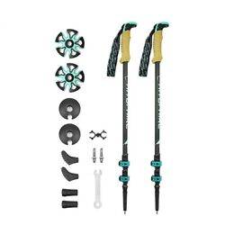 Trekking Poles Carbon Fiber External Quick Lock Adjustable Hiking Accessories $63.75