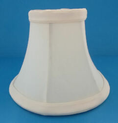 5quot; OFF WHITE CHANDELIER LAMP SHADES WITH CANDELABRA CLIP $3.30