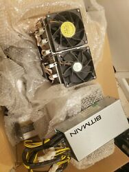 5x Bitmain s9 antminers with power supplies