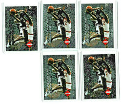 1996 97 COLLECTOR#x27;S EDGE ROOKIE RAGE KOBE BRYANT RC READY TO GRADE LOT OF 5 RARE $200.00