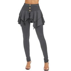 Tiered Ruffle Skirted Legging FREE SHIPPING $13.88