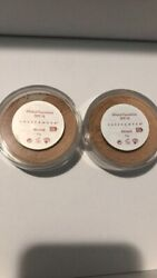 2 PACK Sheer Cover Mineral Foundation 4g Almond Rare And Discontinued $79.99