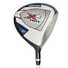 NEW Callaway X2 Hot 10.5 Driver Upgraded Shafts $119.99