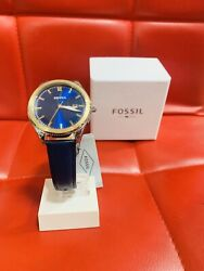womens fossil watch leather band $50.88