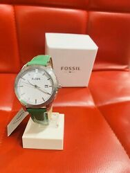 womens fossil watch leather band New In Box $50.88