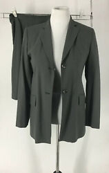 Skirt Suits Jacket Size 6 Skirt Size 10 Green Banana Republic Long Sleeve $24.99