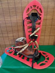 RARE VINTAGE FOLLY#x27;S FRENCH BREVETE Military SNOWSHOES 26 x 10 1 2quot; France $179.00