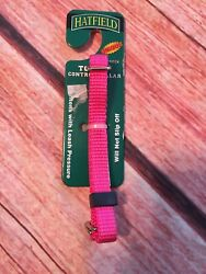 """Hatfield Toy Control Collar 5 8"""" Neck Toy 3 8"""" Pink New $3.00"""