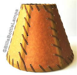 NEW Rustic quot;Musto Verdequot; Cabin Table Light LAMP SHADE Clip On Bulb 9 inch Cone $23.49