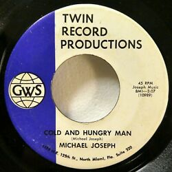 MICHAEL JOSEPH 45 Cold and Hungry Man Tomorrow GWS pop novelty religious JF 774 $15.00