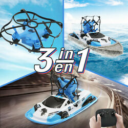 2.4G Mini Drones Boat Car 3 IN 1 Toys For Kids RC Helicopter Drone Quadrocopter $33.79