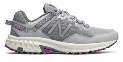 New Balance Women#x27;s 410v6 Trail Shoes Grey with Purple $30.23
