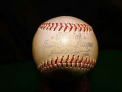 VINTAGE INTER STATE LEAGUE SPALDING BASEBALL 1940#x27;S 50 WASHINGTON SENATORS RARE $195.95