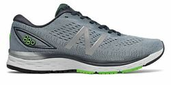New Balance Mens 880v9 Shoes Grey with Blue & Green $47.00