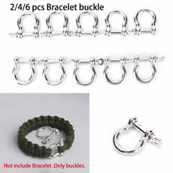 accessories Survival Rope Paracords Bracelet Buckles O-Shaped Shackle Buckle