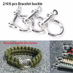 accessories Survival Rope Paracords O-Shaped Shackle Buckle Bracelet Buckles