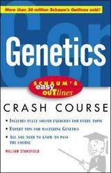 Easy Outline of Genetics by Stansfield William $5.49