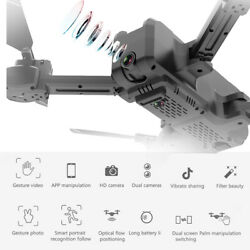 KF607 Wifi FPV Drone with Camera 1080P Foldable Optical Positioning V9V4 $52.71
