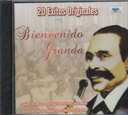 Bienvenido Granda 20 Exitos Originales CD New Sealed  $13.99