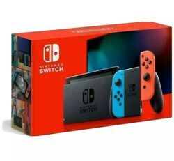 Nintendo Switch with Neon Blue and Neon Red Joy‑Con (Newest Model) Brand New* $389.00