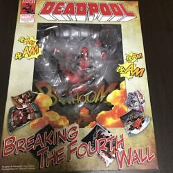 NEW Deadpool Breaking The Force Wall Non Scale ABS amp; PVC Painted Figure HYWA $240.57