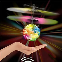 Toys for Girls 3 4 5 6 7 8 9 10 Year Old Flying Ball LED Flashing Light Up Gift $10.99