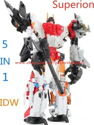 Transformers HZX Superion 5 In 1 Action Figure Upgrade Version KO In Stock 12quot; $38.88