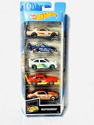 2019 Hot Wheels 5 PACK Nightburnerz Gift Pack Diecast 1:64 Brand New $10.99