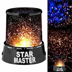 LED Cosmos Galaxy Star Sky Projector Lamp Moon Star Room Wall Light Decor Gifts  $8.99