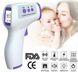Digital LCD Infrared Thermometer Non Contact Forehead Baby Adult Temperature Gun $12.95