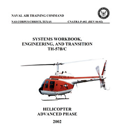 155 Page Bell 206 TH 57 Sea Ranger Helicopter Systems Engineering Manual on CD $9.99