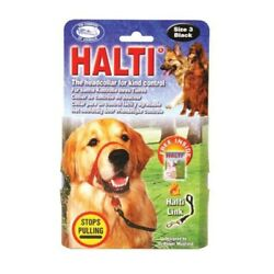 Halti Dog Padded Headcollar Stops Pulling Training Halter Harness 6 Sizes $20.00