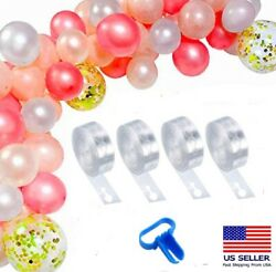 5m Balloon Chain Tape Arch Connect Strip for Wedding Birthday Party Decor Tools $5.99