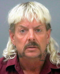 TIGER KING JOE EXOTIC GLOSSY POSTER PICTURE PHOTO CRIMINAL MUGSHOT MUG SHOT ZOO $2.99