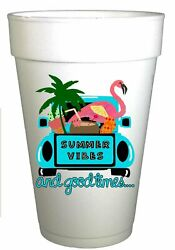 Summer Vibes and Good Times Pool and Beach Cups $12.45