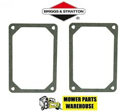 2 NEW REPL BRIGGS amp; STRATTON CYLINDER HEAD VALVE COVER GASKET 272475 272475S $6.95