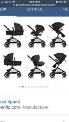 Evenflo Pivot without Car Seat Travel System Casual grey $275.00