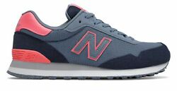 New Balance Women's 515 Shoes Blue with Pink $32.90