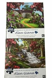 jigsaw puzzles 1000 pc Alan Giana By the Falls On A Clear Day Karmin Set of 2 $29.99