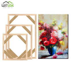 20 60CM STRETCHER BAR SOLID WOOD STRIP DIY FRAME FOR CANVAS PAINTINGS PRINTS FD $2.87
